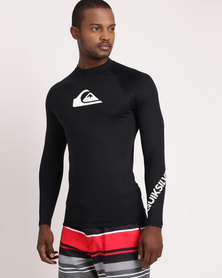 Quiksilver All Time Long Sleeve Rashvest Black