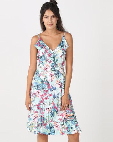 Utopia Floral Dress Mint