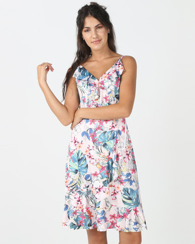 Utopia Floral Dress Pink