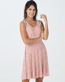 Utopia Dress Peach