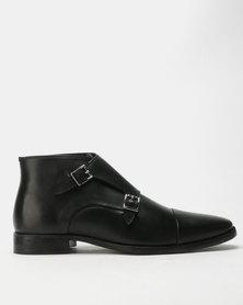 Roberto Morino Sanjo 15 Lea Boots Black