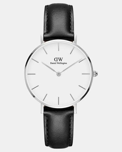 9ad564a12d5c2 Daniel Wellington Women Classic Petite Sheffield 32mm Watch Silver ...