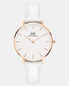 Daniel Wellington Women Classic Petite Bondi 32mm Watch Rose Gold