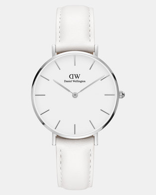 8d51a8863a65 Daniel Wellington Women Classic Petite Bondi 32mm Watch Silver