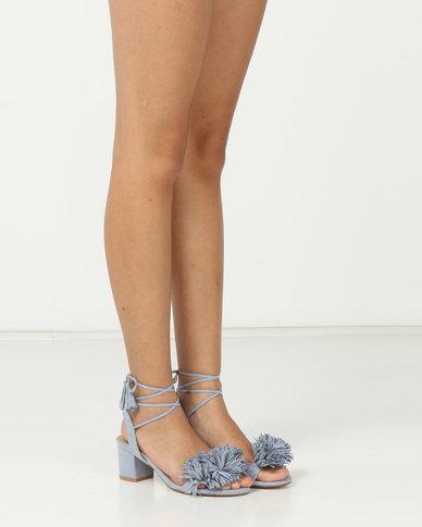 dbfb05c55 Madison Rio Mid Block Heel Sandals Light Blue