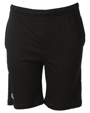 Kappa Unisex Cabog Shorts Black