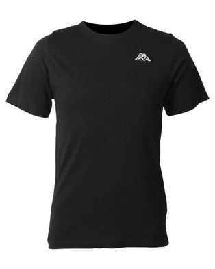 Kappa Unisex Basic T-Shirt Black