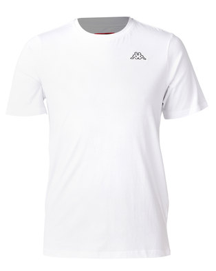 Kappa Unisex Basic T-Shirt White