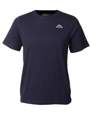 Kappa Unisex Basic T-Shirt Blue Marine