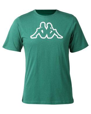 Kappa Unisex Cromen T-Shirt Green Pine