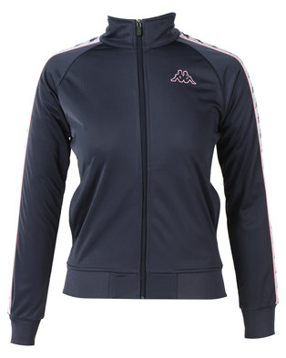 Kappa 222 Banda Anniston Slim Jacket Navy/Pink