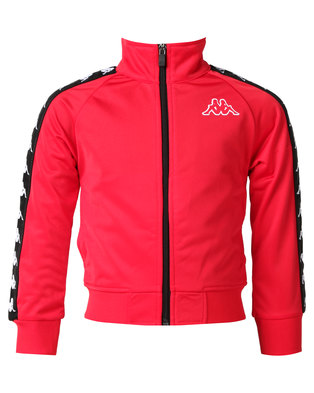 Kappa 222 Banda Wanniston Slim Jacket Red/Black