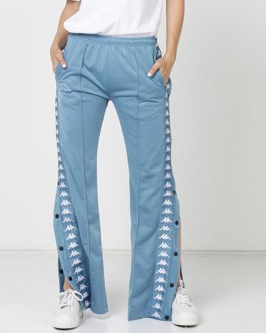 Kappa 222 Banda Wastoria S Trousers Blue/Cobalt/White