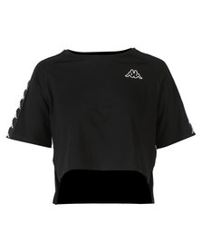 Kappa Banda Avant T-Shirt Black/White