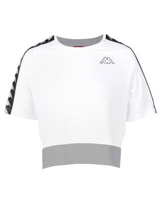 Kappa Banda Avant T-Shirt White/Black