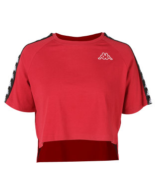 Kappa Banda Avant T-Shirt Red/Black