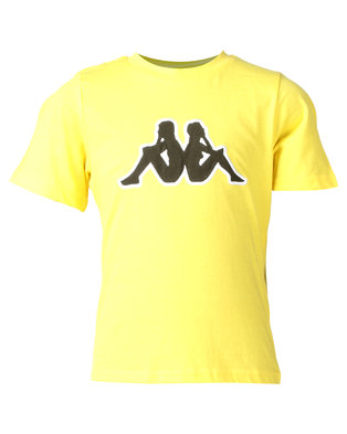 Kappa Logo Airi TR T-Shirt Yellow/White