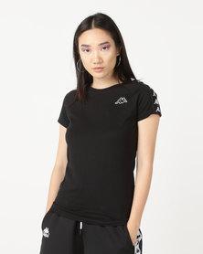 Kappa Banda T-Shirt Black/White