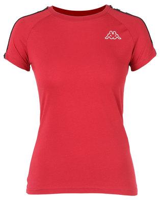 Kappa Banda T-Shirt Red/Black