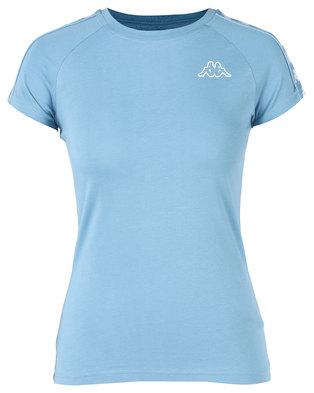Kappa Banda T-Shirt Blue/White