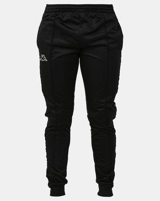 Kappa Unisex 222 Banda Arib Slim Pants Black