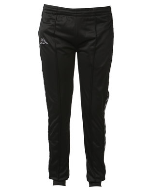 Kappa Unisex 222 Banda Arib Slim Pants Black/Grey