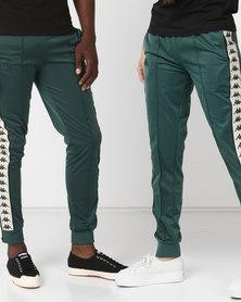 Kappa Unisex 222 Banda Arib Slim Pants Green/Black