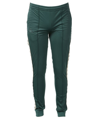 Kappa Unisex 222 Banda Arib Slim Pants Green/Black