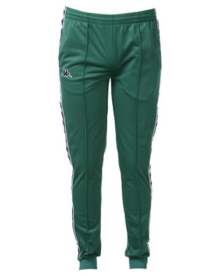 Kappa Unisex 222 Slim Pants Green/Blue/White