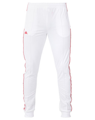 Kappa Unisex 222 Banda Arib Slim Pants A21 White/Red