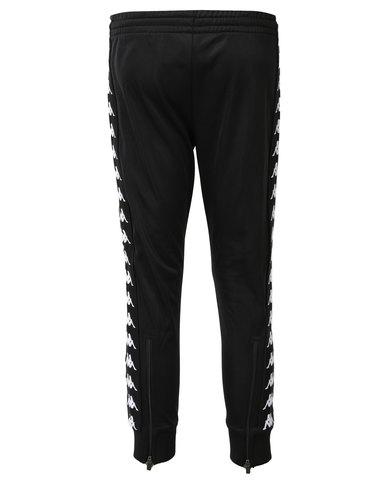 3c46f767027f Kappa 222 Banda Arib Slim Pants Black