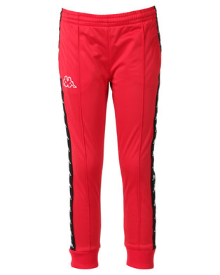 Kappa Banda Arib Slim Pants Dark Red/Black