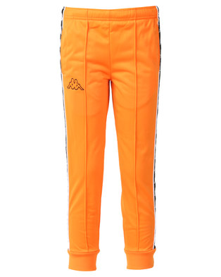 Kappa 222 Banda Arib Slim Pants Orange/Black