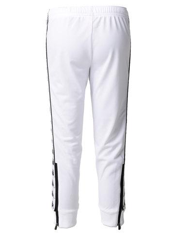 Kappa 222 Banda Arib Slim Pants White/Black