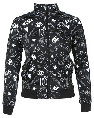 Kappa Banda Wanniston Jacket Black/White 926