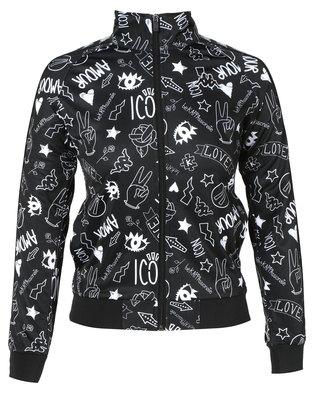Kappa Banda Wanniston Jacket Black/White 926