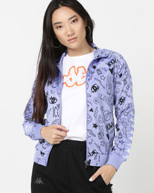 Kappa Banda Wanniston Jacket Violet/Black/White