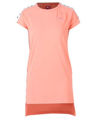 Kappa 222 Banda Aurion SL Dress Pink/Peach