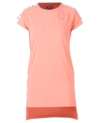 Kappa 222 Banda Aurion SL Dress Pink/Peach