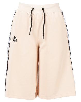 Kappa Auth Anah Shorts Pink/Peach