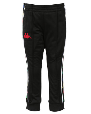 Kappa Banda Rastoria Pants Black/Red