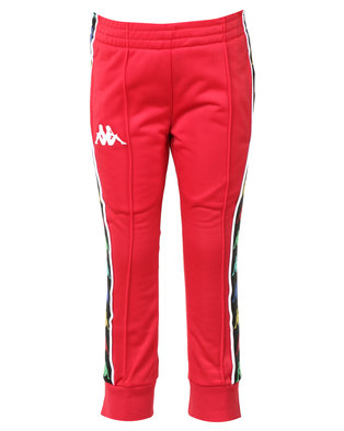 Kappa Banda Rastoria Pants Red/White