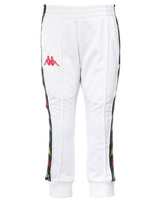 Kappa Banda Rastoria Pants White/Red
