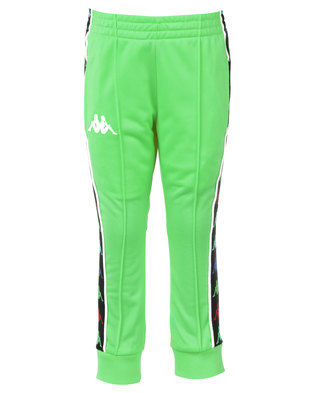 Kappa Banda Rastoria Pants Green/White