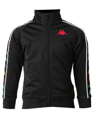 Kappa Banda Anniston Jacket Black/Red