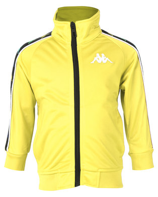 Kappa Banda Anniston Y Jacket Yellow Lemon/White