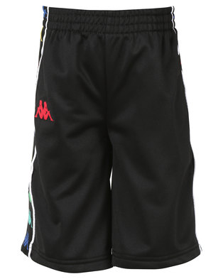 Kappa Banda Kidwell Shorts Black/Red