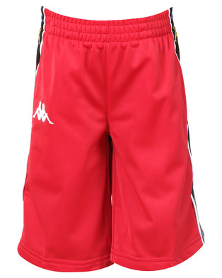 Kappa Banda Kidwell Shorts Red/White