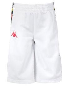 Kappa Banda Kidwell Shorts White/Red