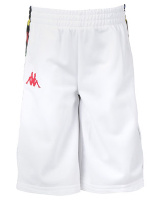 Kappa Banda Kidwell Shorts White/Red